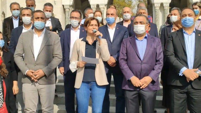 CHP'li İl Başkanları'ndan 81 ilde ortak basın açıklaması