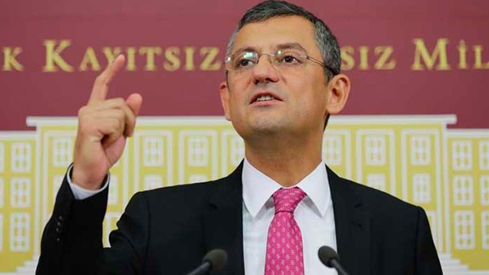 CHP'li Özel: Bir kişinin inadı, ülkemizi ekonomik krizle baş başa bıraktı