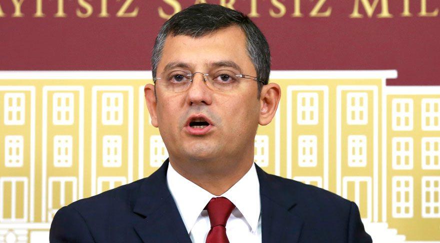 CHP'li Özgür Özel: Erdoğan ilk kez sistemin yürümediğini söyledi