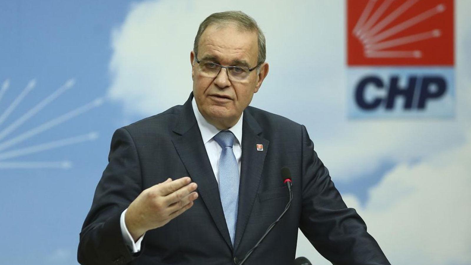 CHP'li Öztrak'tan emekli amiral bildirisine ilişkin açıklama