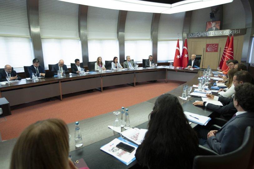 CHP MYK Kılıçdaroğlu başkanlığında toplandı