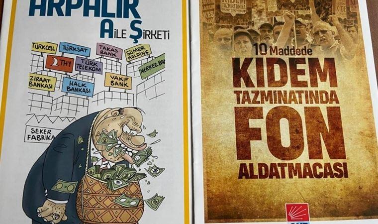 CHP'nin yayınladığı iki kitaba toplatma kararı
