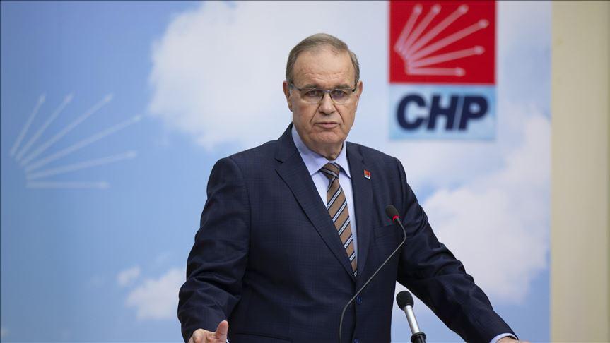 CHP sözcüsü Faik Öztrak'tan Erdoğan'a sert tazminat yanıt