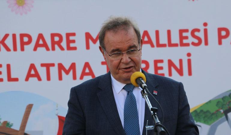 """CHP Sözcüsü Öztrak'tan Erdoğan'a """"söke söke"""" yanıtı"""