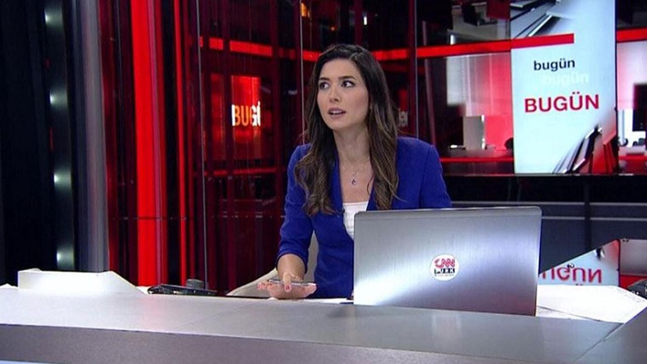 CNN Türk sunucusu canlı yayında işi bıraktığını açıkladı