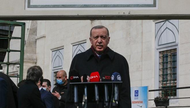 Cumhurbaşkanı Erdoğan'dan 'kademeli normalleşme' açıklaması