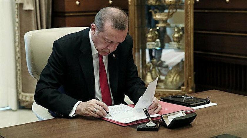 Cumhurbaşkanı Erdoğan imzaladı: Çeşitli bakanlıklar ile kamu kurum ve kuruluşlarına atama