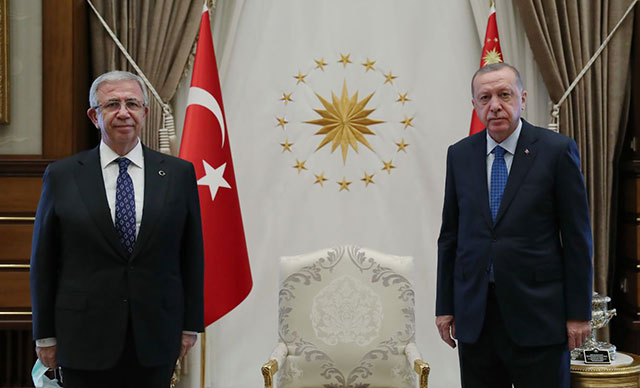 Cumhurbaşkanı Erdoğan, Mansur Yavaş görüşmesi sona erdi