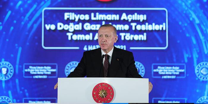 Cumhurbaşkanı Erdoğan müjdeyi açıkladı: 135 milyar metreküplük yeni keşif
