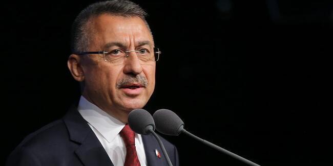 Cumhurbaşkanı Yardımcısı Oktay'dan flaş 'yaptırım' açıklaması