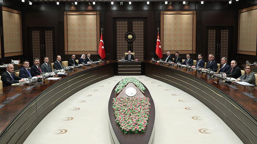 Cumhurbaşkanlığı Kabinesi toplandı