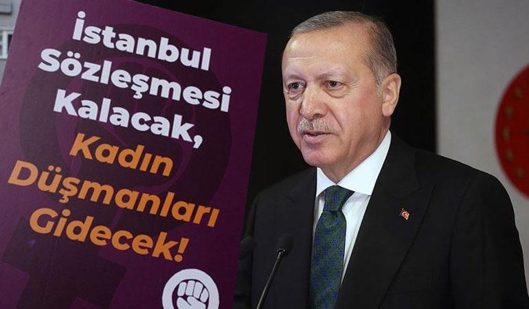 Cumhurbaşkanlığı'nın İstanbul Sözleşmesi'nden çekilme savunması: Erdoğan devletin başıdır
