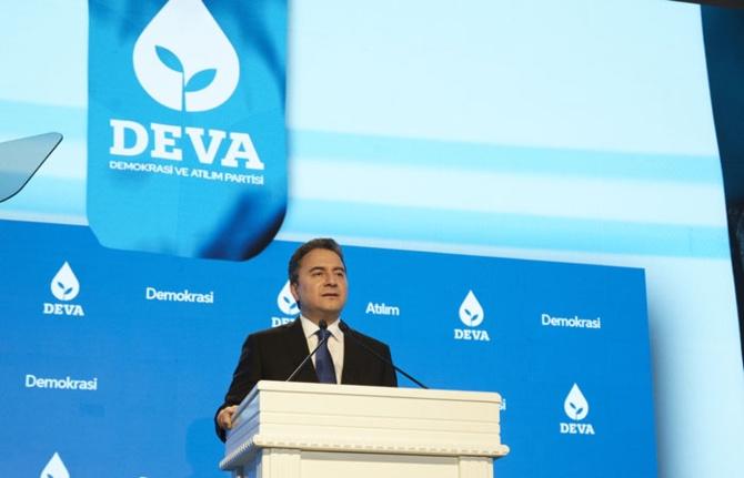 DEVA Partisi'nin dijital açılışı yapıldı