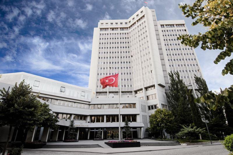 Dışişleri: 10 ülkenin diplomatik misyon şeflerinin açıklamaları hadsiz ve kabul edilemez
