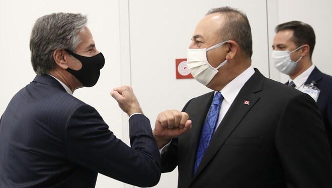 Dışişleri Bakanı Çavuşoğlu, ABD'li mevkidaşı Blinken'la telefonda görüştü