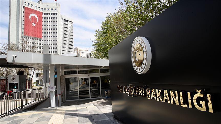 Dışişleri Bakanlığı'ndan BM'ye Kıbrıs tepkisi