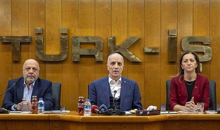 DİSK, Hak-İş ve Türk-İş'ten ortak çağrı: Teklifi geri çekin