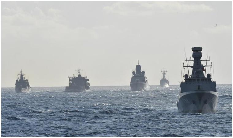 Dört ülke Doğu Akdeniz'de ortak tatbikat yapacağını duyurdu!
