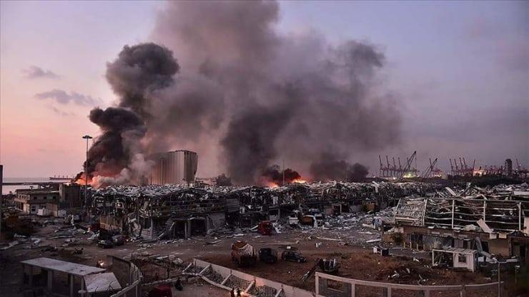 Dünya Bankası, Beyrut'taki patlamanın fiziksel hasarının büyüklüğünü açıkladı