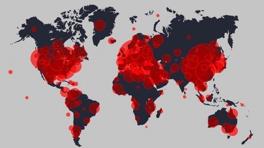Dünya genelinde Covid-19 tespit edilen kişi sayısı 9 milyon 910 bini geçti