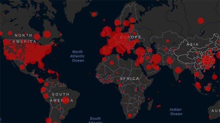 Dünya genelinde koronavirüs vaka sayısı 19 milyonu aştı