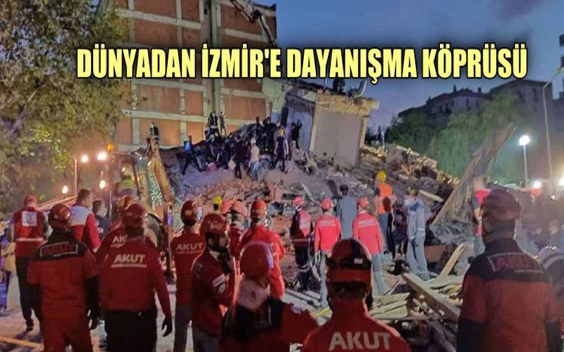 Dünyadan İzmir'e dayanışma köprüsü