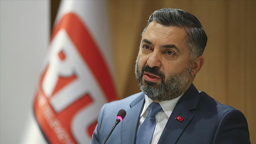 Ebubekir Şahin yeniden RTÜK Başkanı oldu