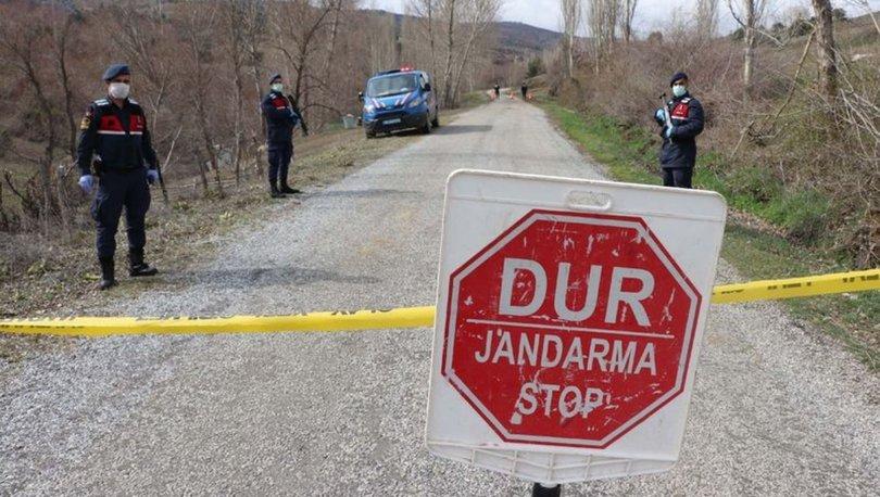 Elazığ'da koronavirüs vakaları görülen bir köy karantinaya alındı