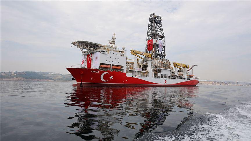 Enerji Bakanlığı: Yavuz Sondaj Gemisi limana döndü