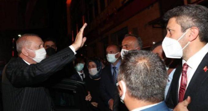 Erdoğan'a İkizdere'de protesto: Biz halkız, biz kazanacağız