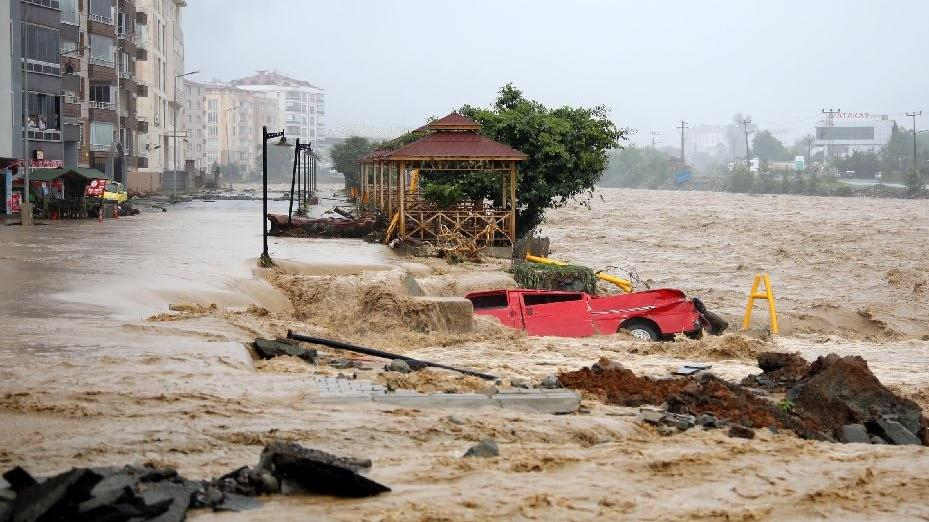 Erdoğan açıkladı: Sel alanı afet bölgesi ilan edildi