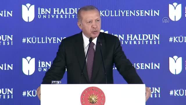 Erdoğan:  Arzu ettiğimiz ilerlemeyi sağlayamadığımızı düşünüyorum