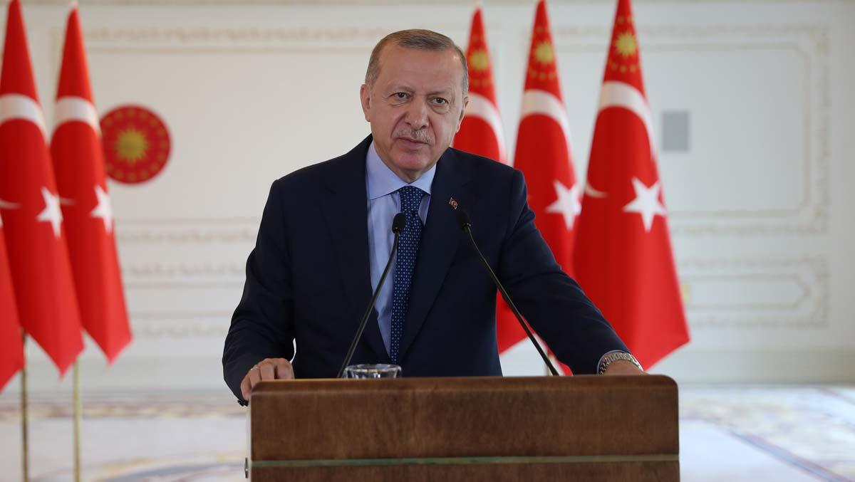 Erdoğan: Ayasofya için gürültü çıkaranlar bu coğrafyada varlığımızdan rahatsız olanlar