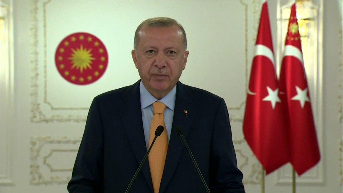 Erdoğan: Dünya 5'ten büyüktür' tezinin haklılığını bir kez daha görmüş olduk
