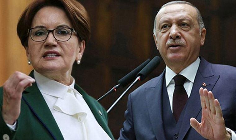 Erdoğan'dan Akşener'e 250 bin liralık tazminat davası