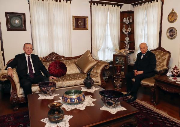 Erdoğan'dan Bahçeli'ye ikinci ev ziyareti