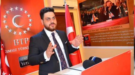Erdoğan'dan BTP'ye kongre mesajı