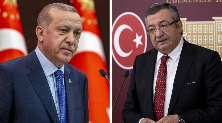 Erdoğan'dan CHP'li Engin Altay'a suç duyurusu