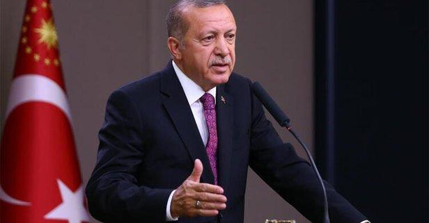 Erdoğan'dan 'enerji' vurgulu Kıbrıs harekâtı mesajı