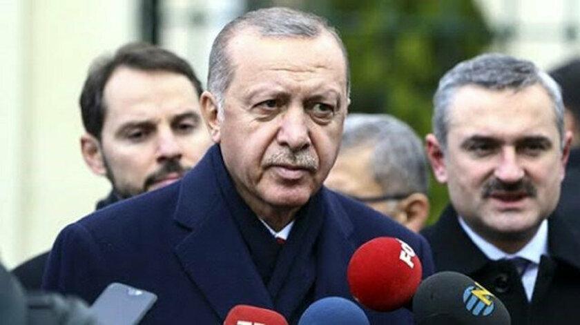 Erdoğan'dan koronavirüs açıklaması: Malum tedbirler alıyoruz, alacağız