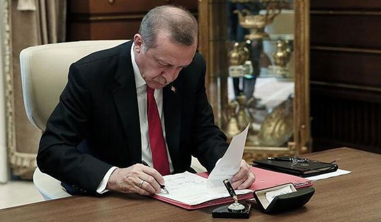Erdoğan'dan kritik görevlere yeni atamalar