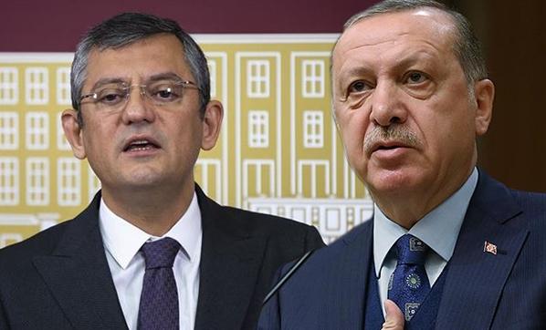Erdoğan'dan Özgür Özel'e 250 bin TL'lik tazminat davası