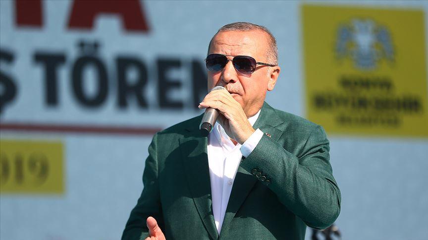Erdoğan'dan salgın açıklaması: Gerekli adımları atacağız