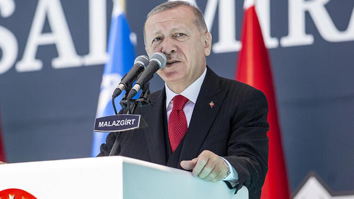 Erdoğan'dan sert sözler: Yaparız diyorsak yaparız, karşımıza çıkmak isteyen buyursun gelsin