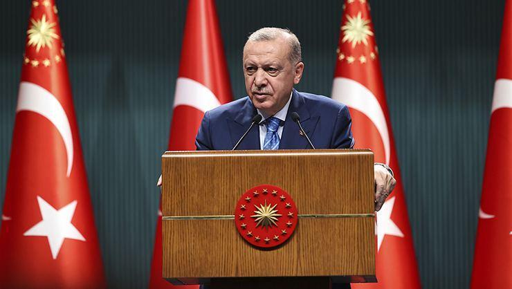 Erdoğan'dan yüz yüze eğitime ilişkin açıklama