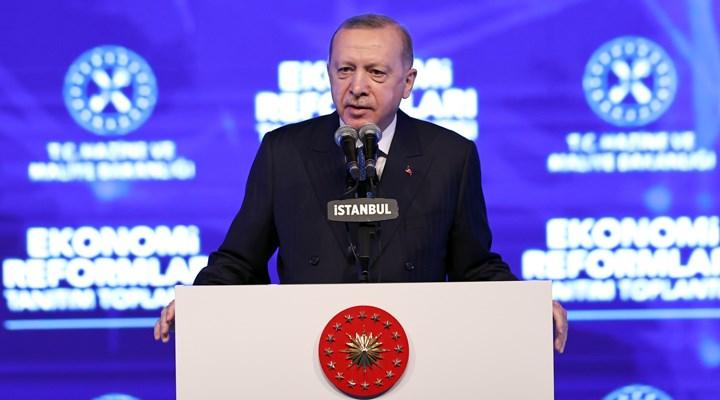 Erdoğan, 'Ekonomik Reform Paketi'ni açıkladı