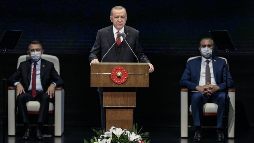 Erdoğan: Hayatımızın hiçbir döneminde millete karşı durmayı aklımızdan geçirmedik Erdoğan