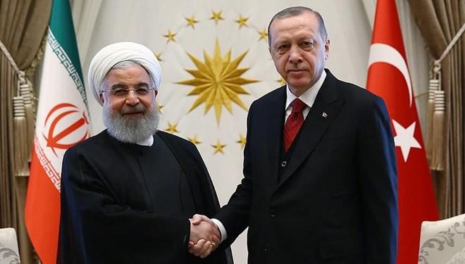 Erdoğan, İran Cumhurbaşkanı Ruhani ile telefonda görüştü
