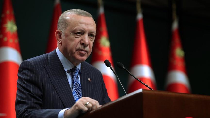 Erdoğan: Sahayı güçlü biçimde tutmak mecburiyetindeyiz