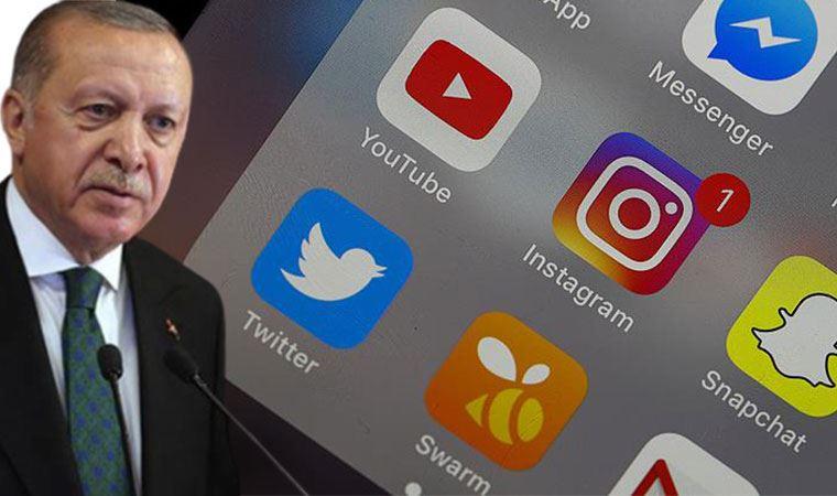 Erdoğan: Sosyal medya milli güvenliği tehdit eder konuma gelmiştir